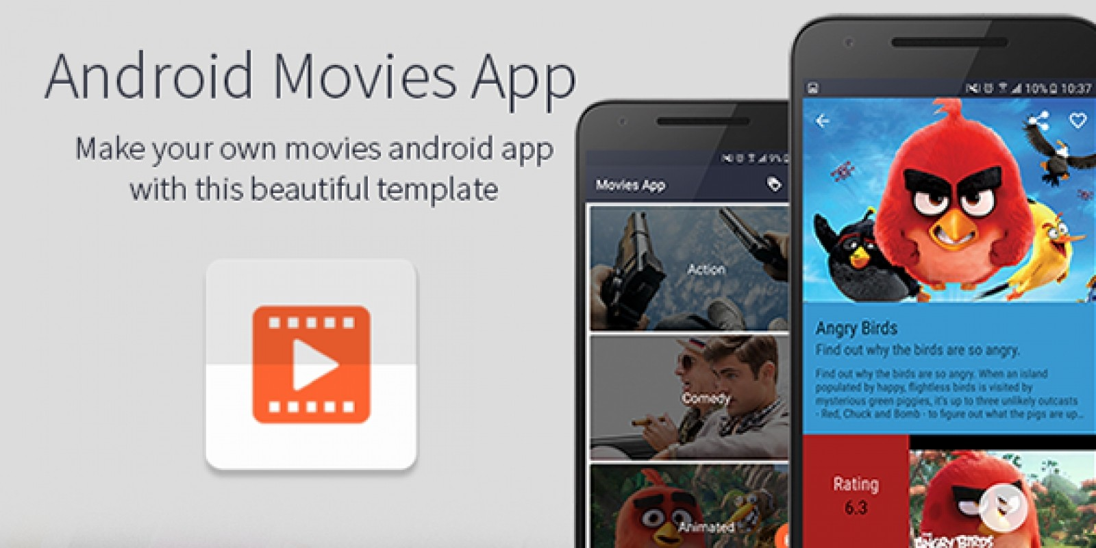 Android Movies App Template