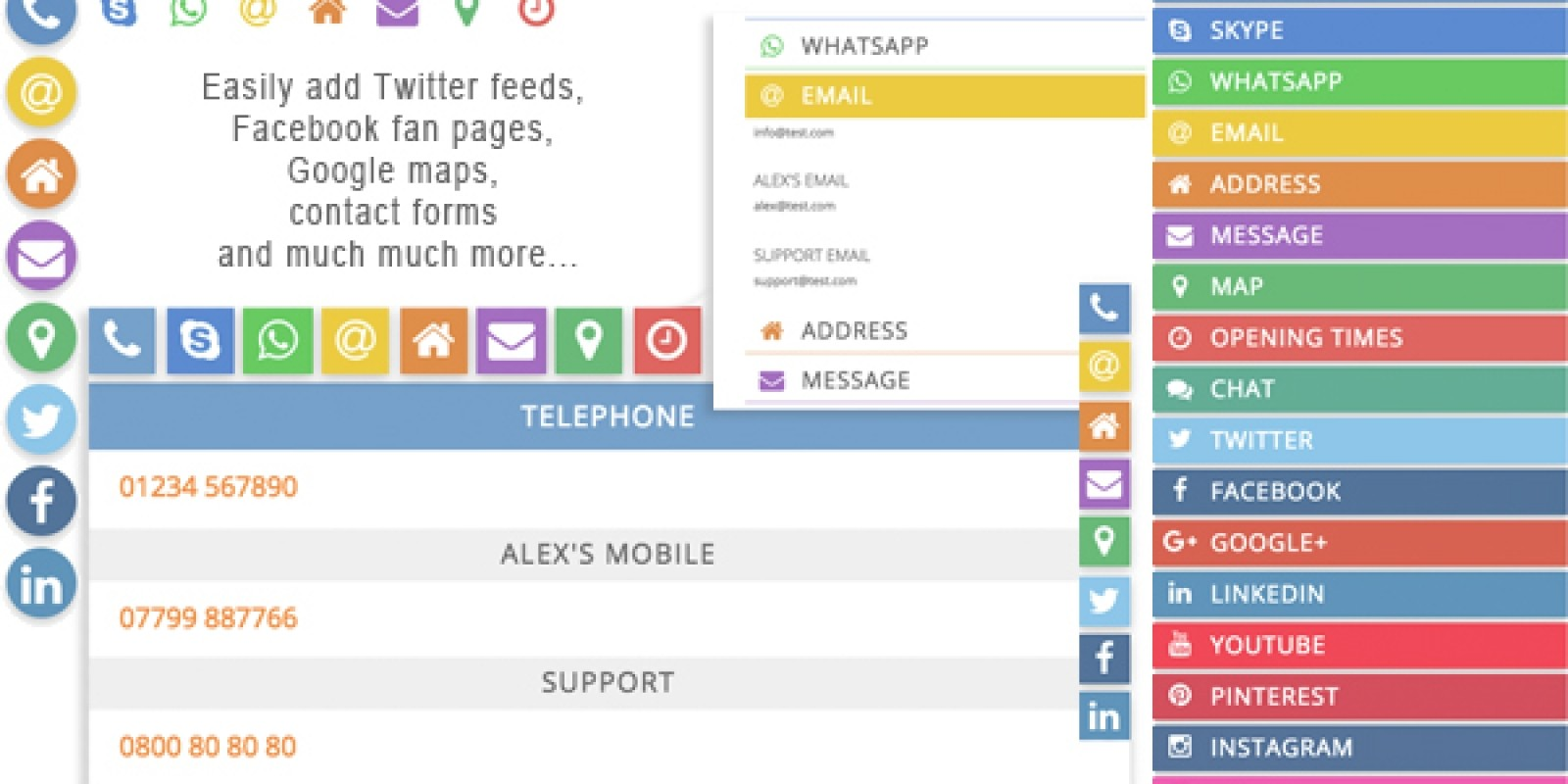 Social Profiles - WordPress Plugins