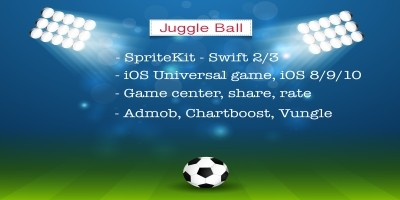 Juggle Ball - iOS Universal Game Source Code