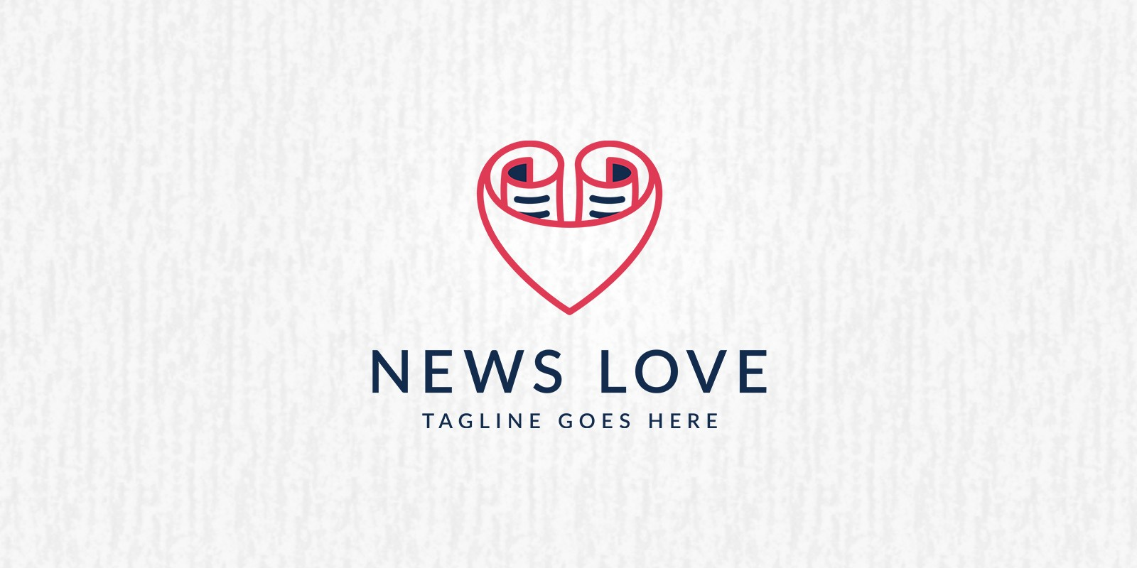 Love News - Logo Template - Media Logo Templates | Codester