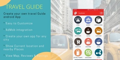 Travel Guide App - Android Source Code