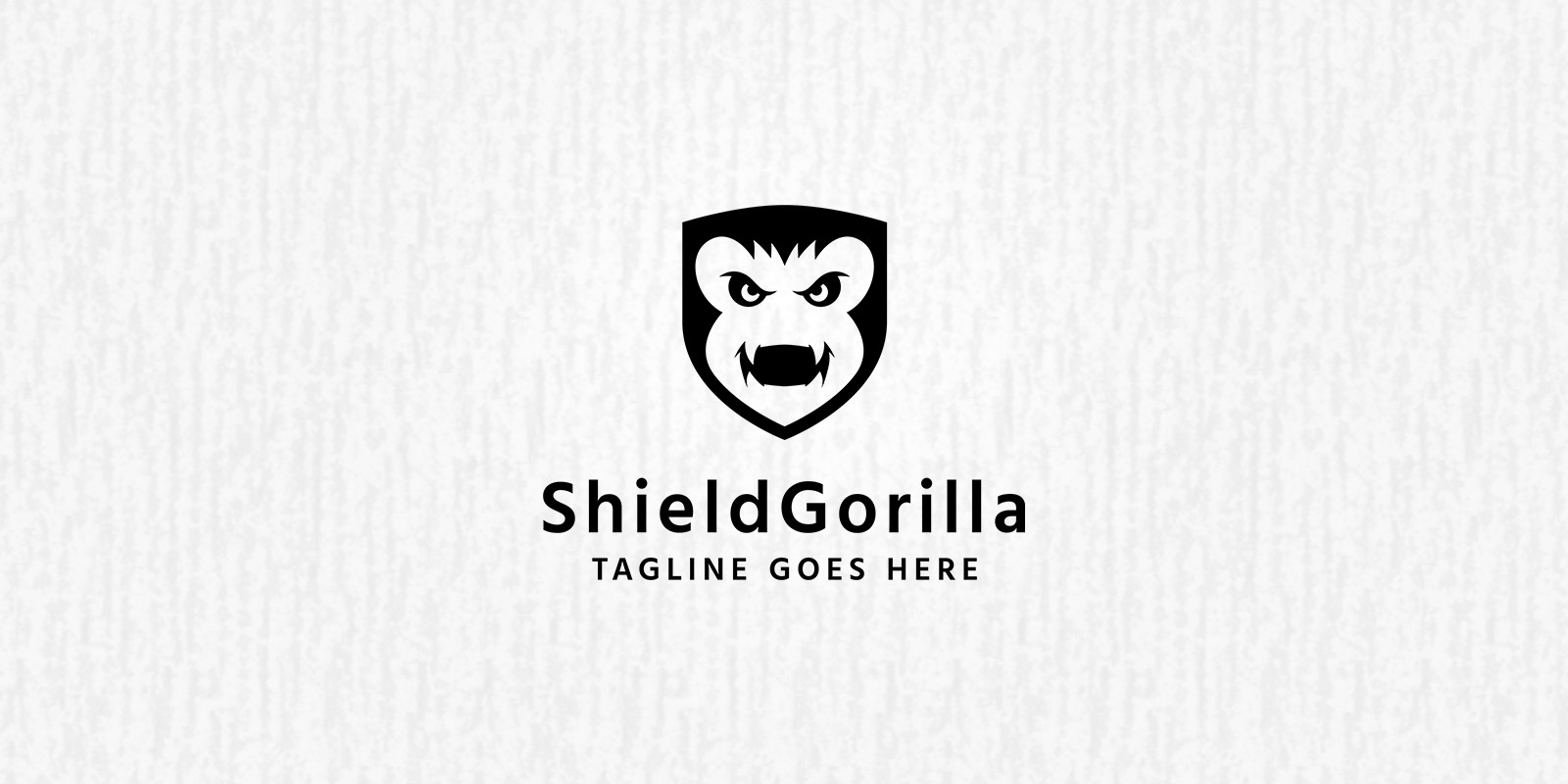 Angry Gorilla Logo Template