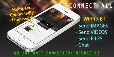 Connect Everything - iOS Wireless Filesharing App