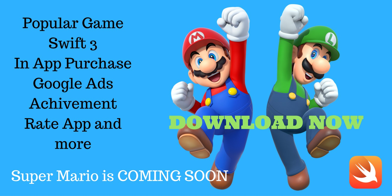 Super Mario Quiz Trivia - iOS Source Code