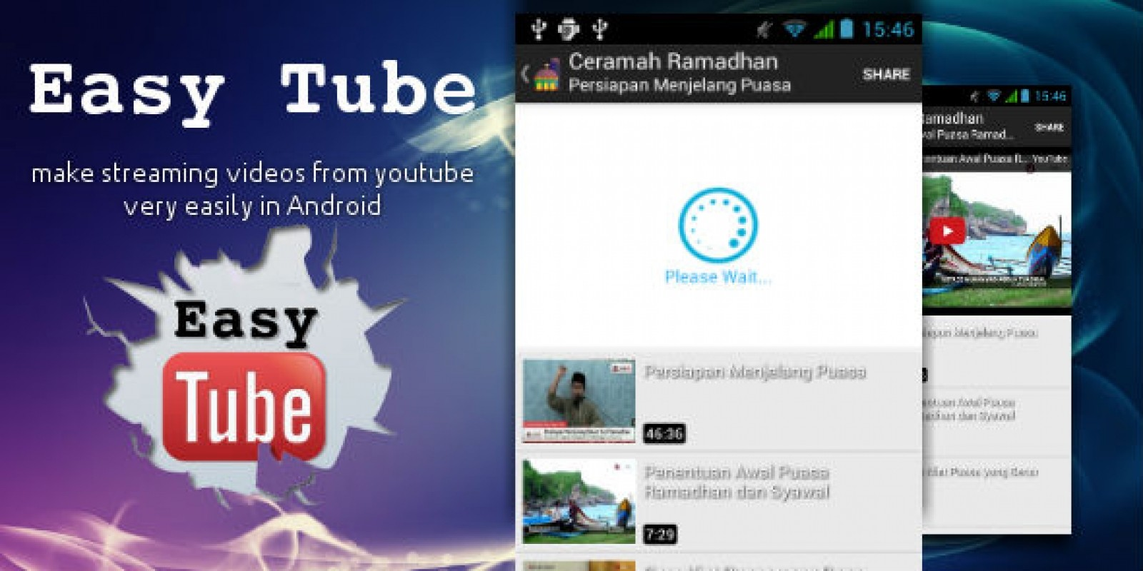 EasyTube - Android Youtube Streaming Library