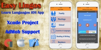 Easy Lingos - iOS XCode App Template