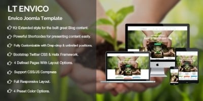 LT Enrico - Nature Joomla Template