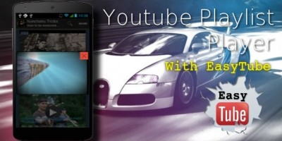 Youtube Playlist Player for Android EasyTube