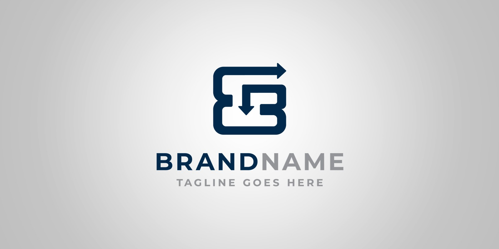 Double Letter Logo Template