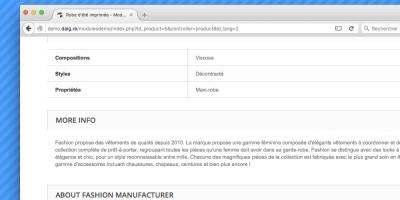 Manufacturer Block - PrestaShop Module