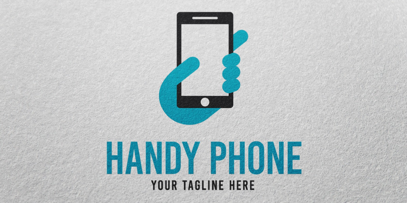 Handy Phone - Logo Template