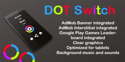 Dot Switch - Android Game Source Code