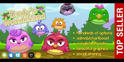 Birds Wonderland - Unity Game Template