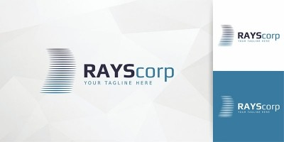 RaysCorps - Logo Template