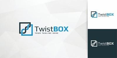 TwistBox - Logo Template