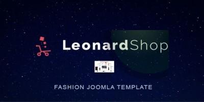 Leonard Shop - Responsive Joomla Template