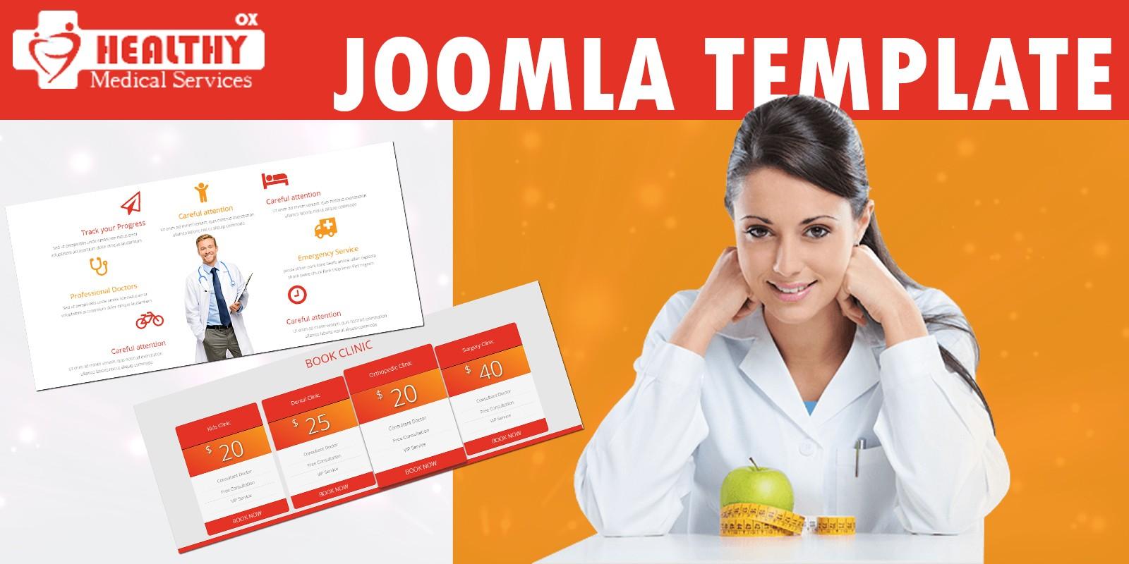 Healthy OX - Joomla Template
