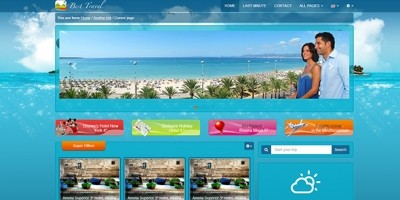 Best Travel - Bootstrap Responsive HTML Template