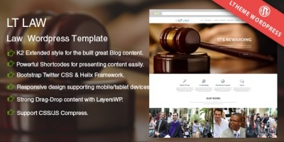 LT Law - Legal Wordpress Theme