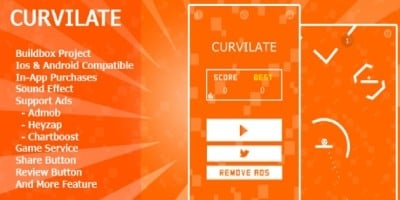 Curvilate - Buildbox Game Template