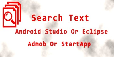 Search Text In Files - Android App Source Code