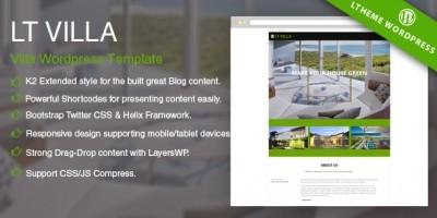LT Villa - Responsive Villa WordPress Theme