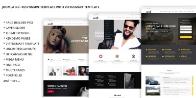 Monica - Multi-Purpose Joomla Template