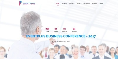 Eventplus - Event HTML Template