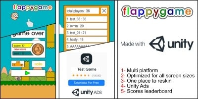 Flappy Game Unity Source Code