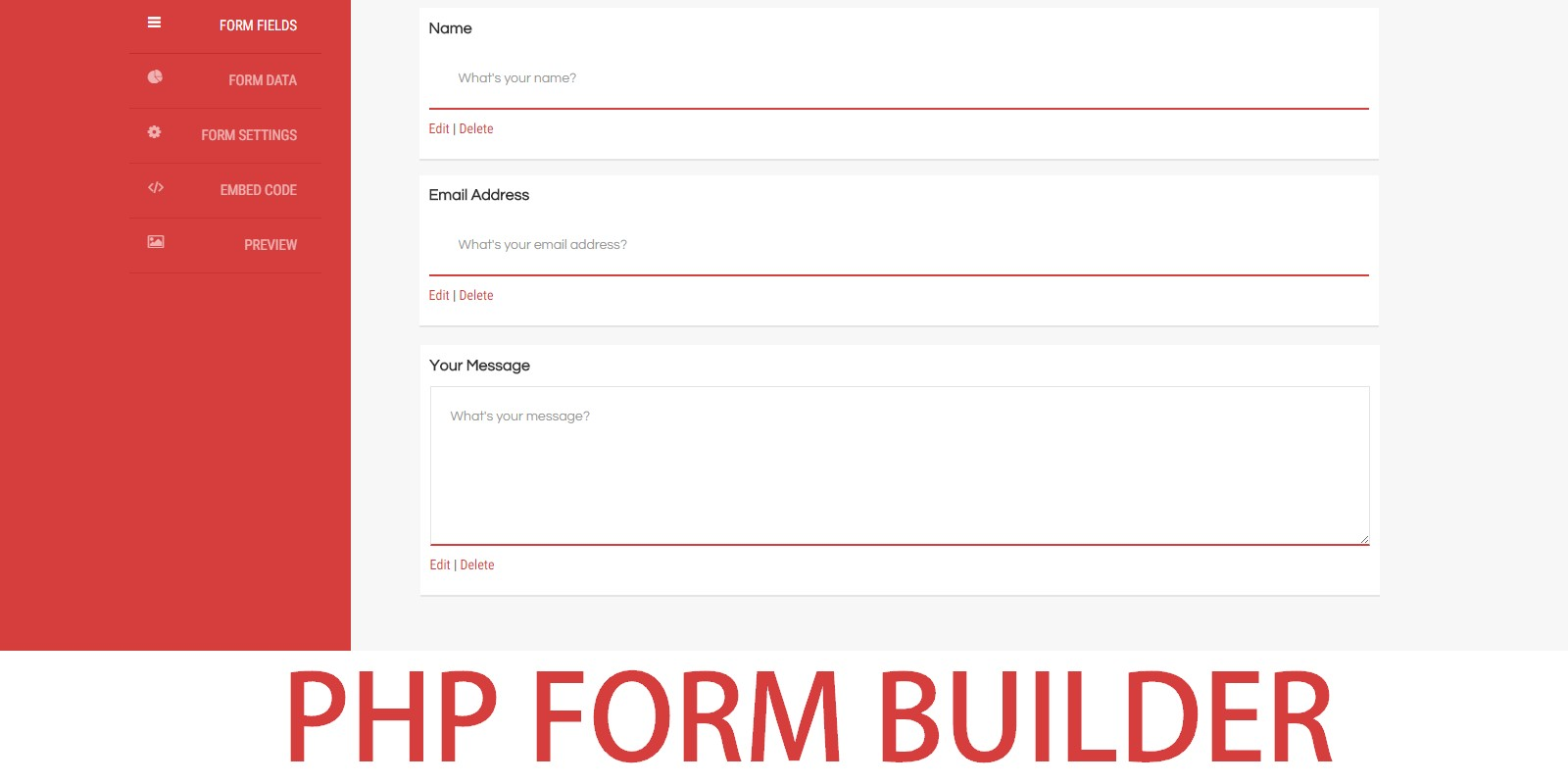 PHP Advanced Form Builder - PHP Form Scripts & Generators | Codester