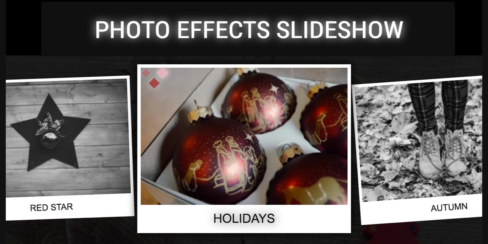 Photo Effects Slideshow - jQuery Plugin