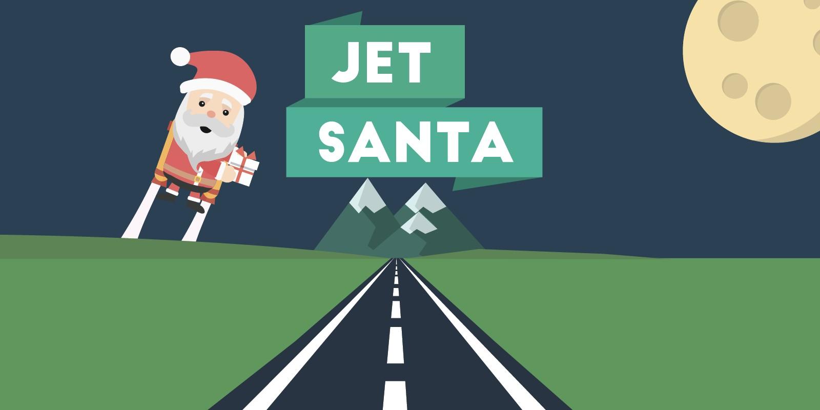 Jet Santa - Unity Game Source Code