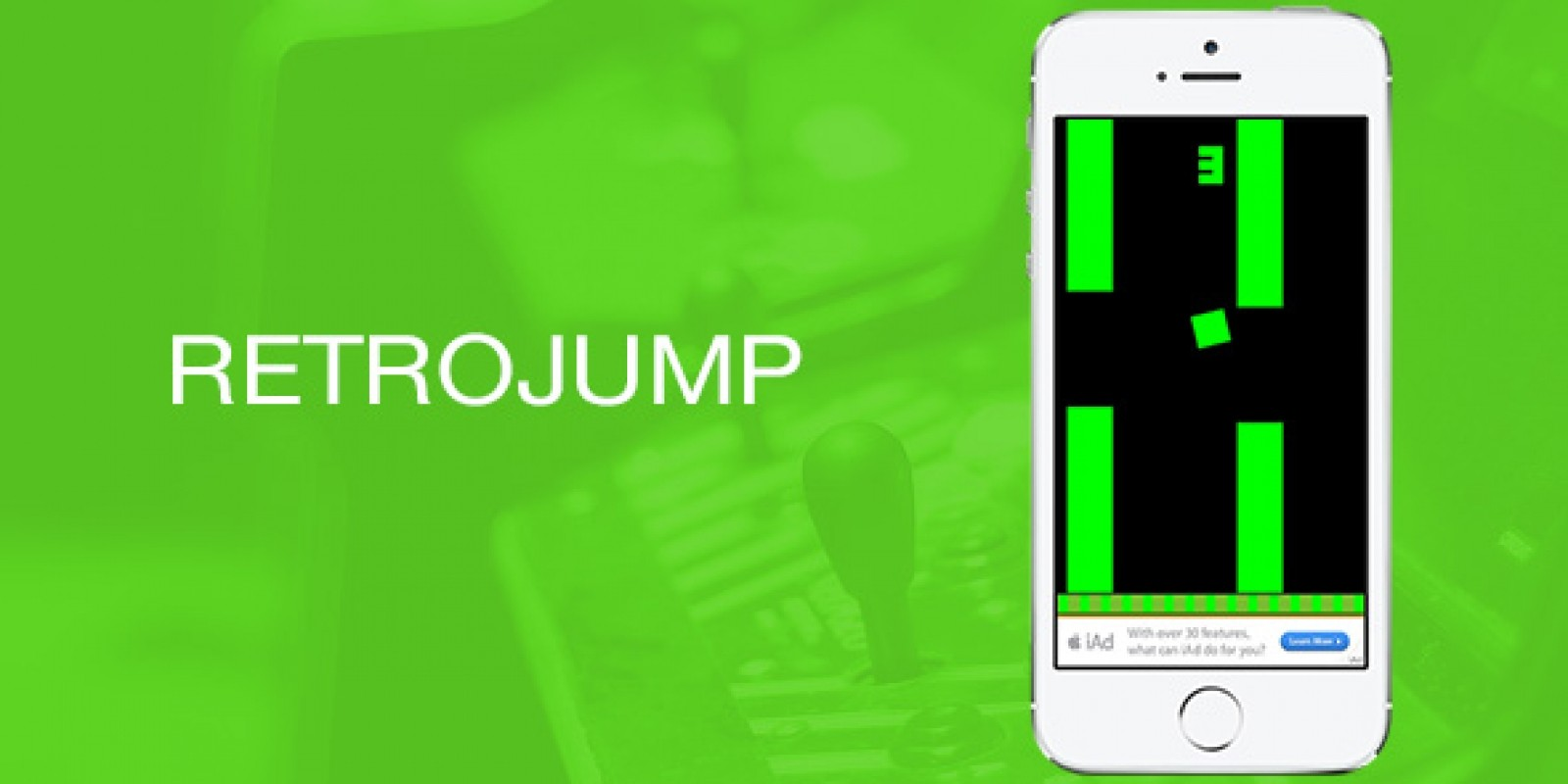 RetroJump iOS Game Source Code