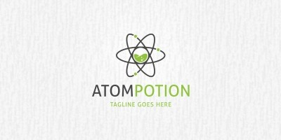 Atom Lab - Logo Template
