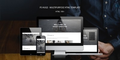 PS Huge – Multipurpose HTML Template