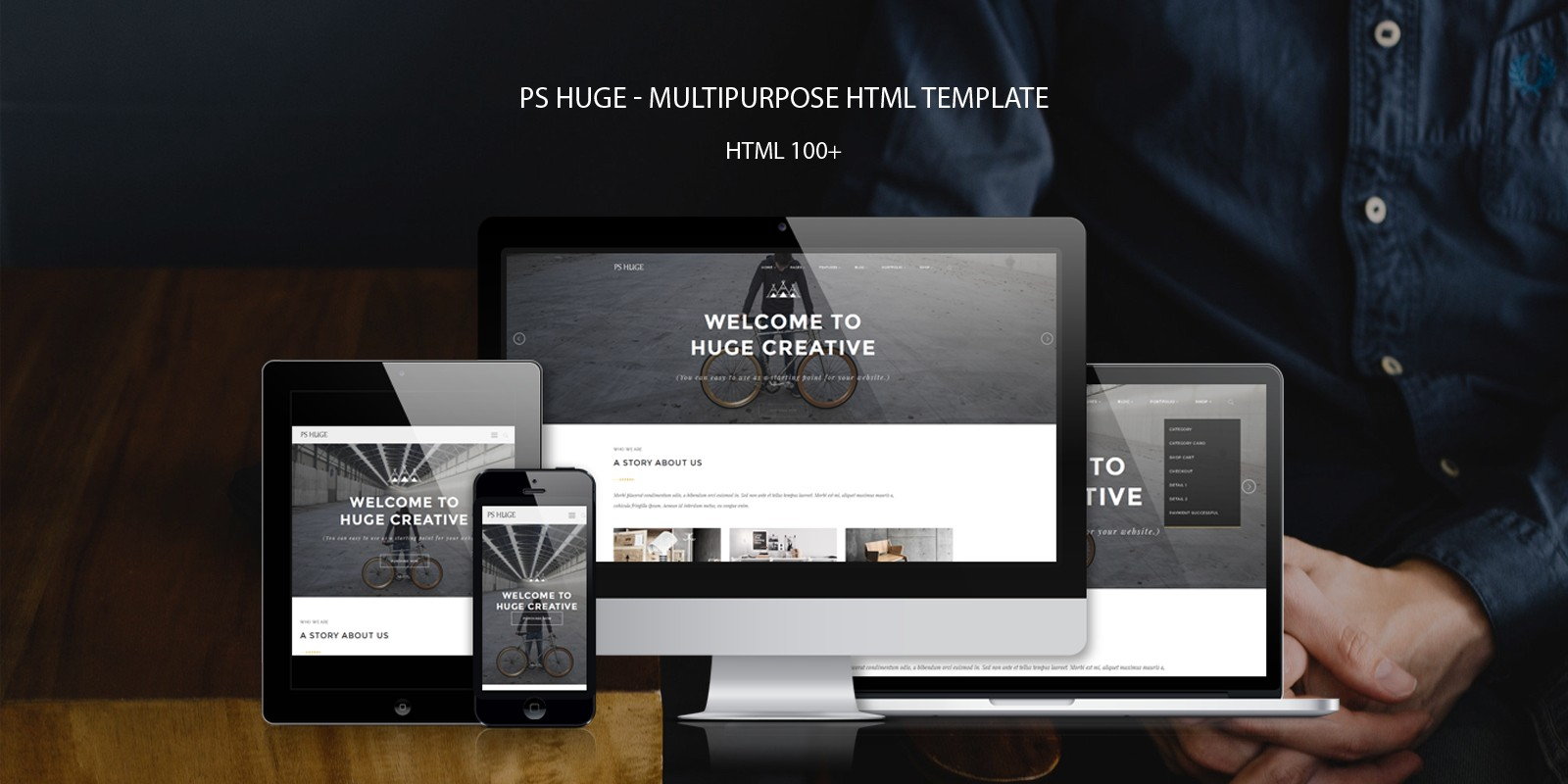 PS Huge – Multipurpose HTML Template - Business HTML Website ...
