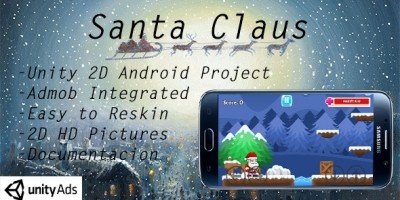 Santa Claus - Unity Game Source Code