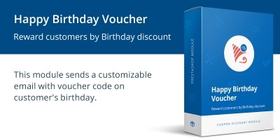 Happy Birthday Voucher - PrestaShop Module