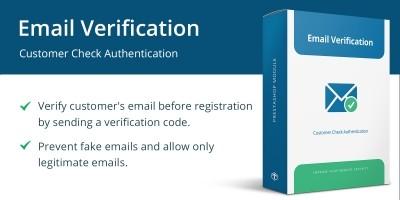 Email Verification - PrestaShop Module