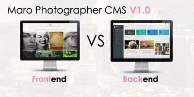 Maro Photographer CMS - PHP Script