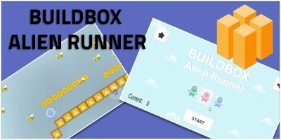 BuildBox Alien Runner - Buildbox Game Template
