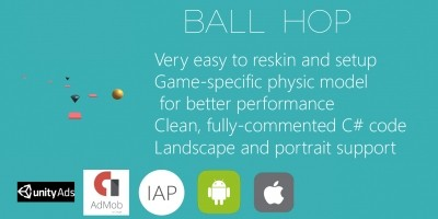 Ball Hop - Unity Game Source Code