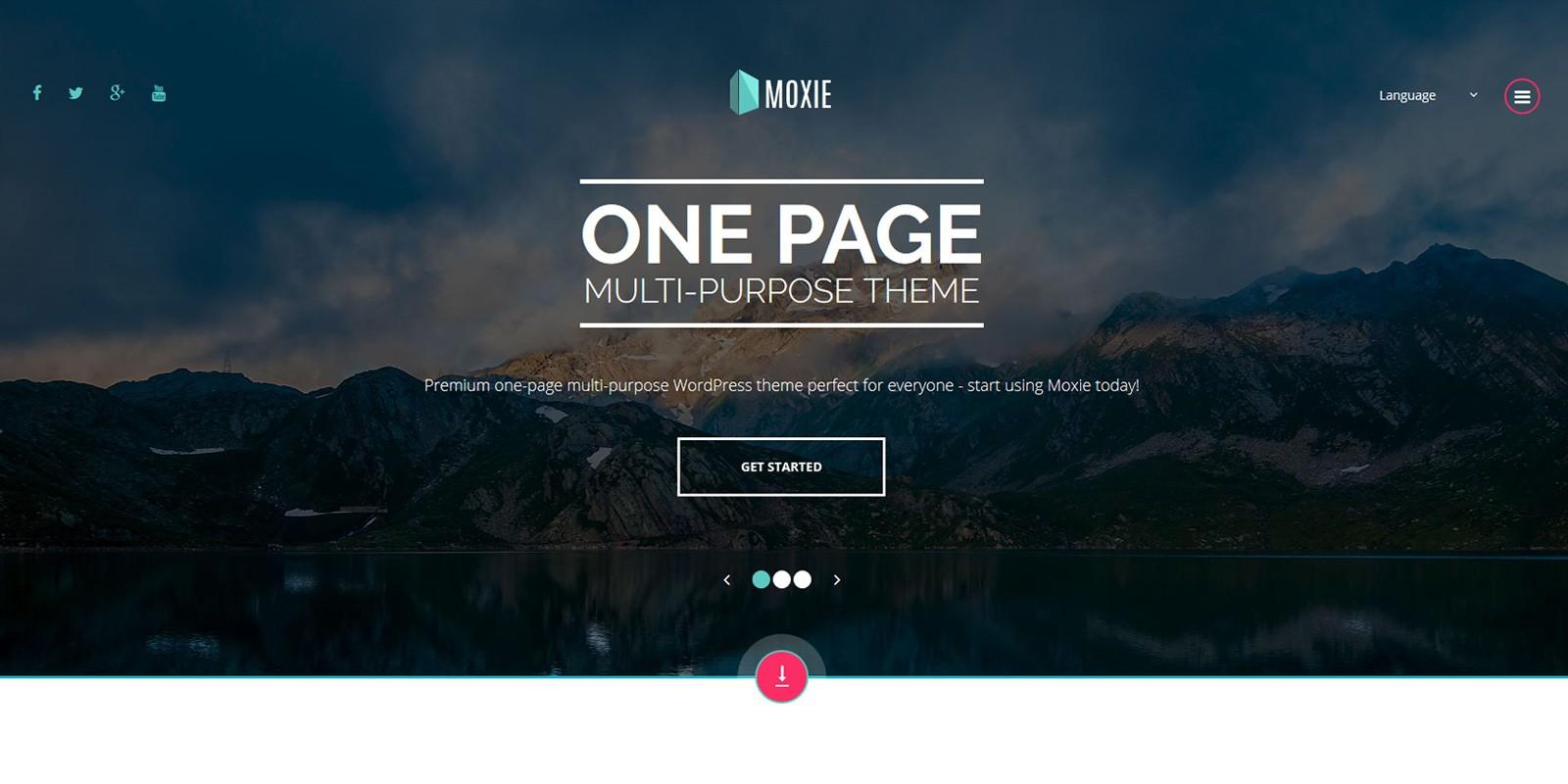 Moxie - Multi-Purpose WordPress theme