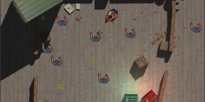 Top Down Shooter - Zombie Survival Unity Game
