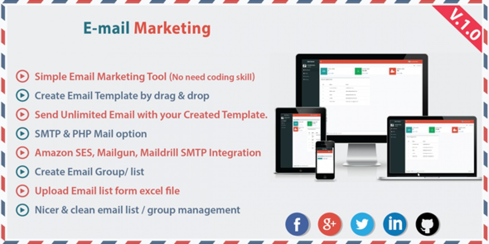 Email Marketing Mailing List PHP Script PHP Scripts PHP Code - Email template management system