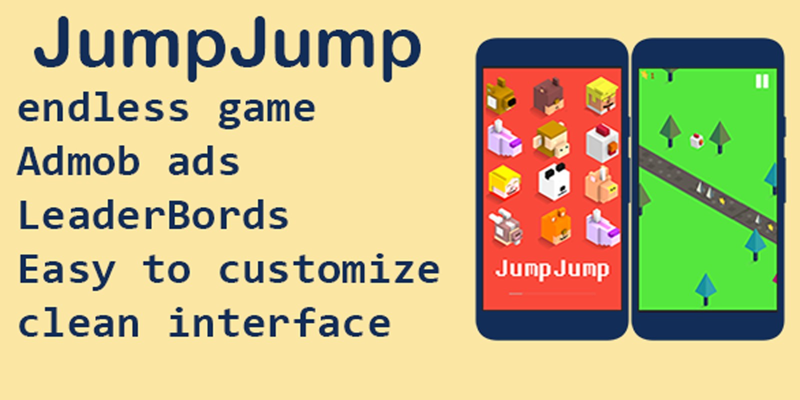 JumpJump - Android Game Source Code
