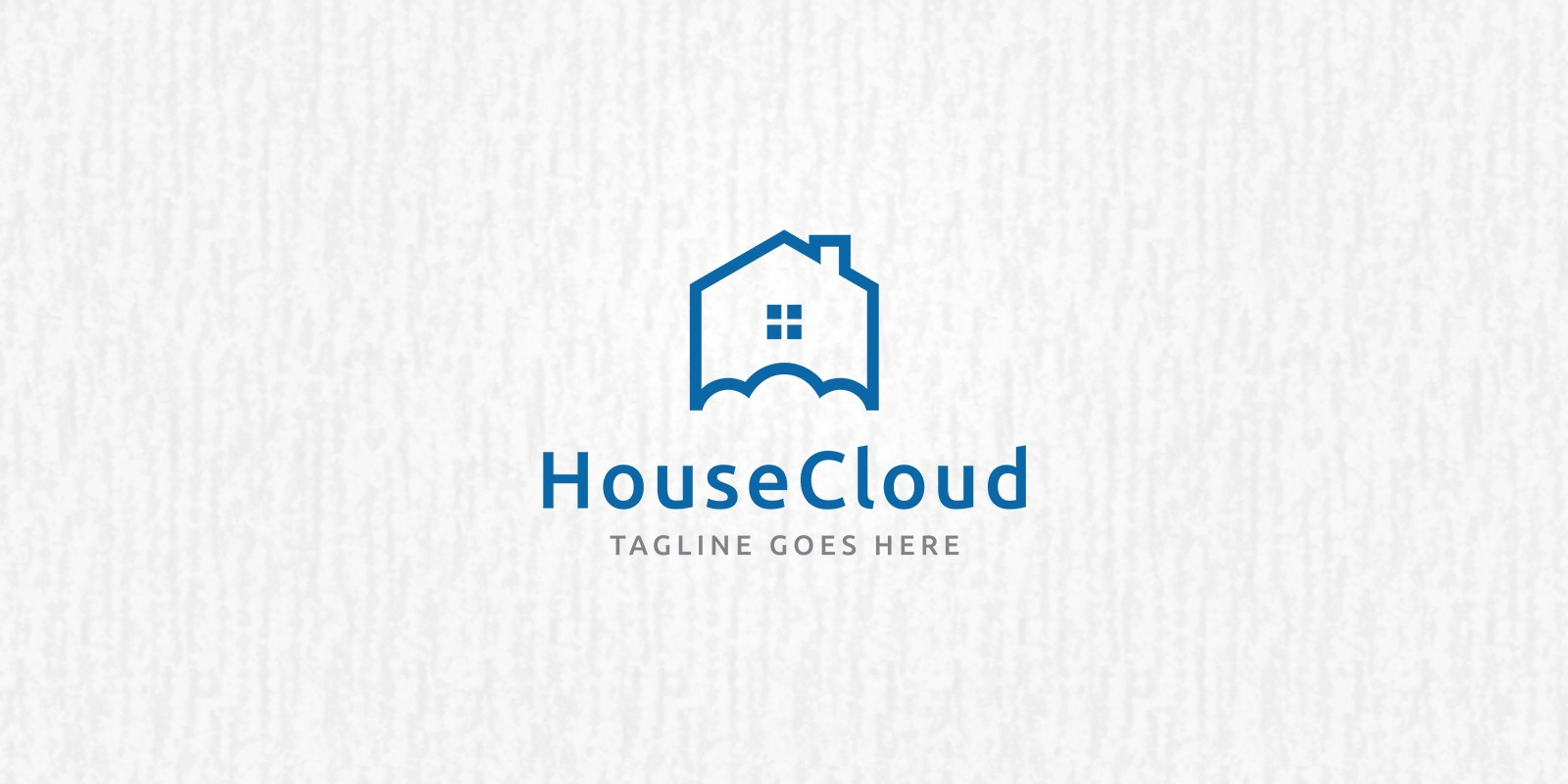 House Cloud - Logo Template - Building Logo Templates | Codester