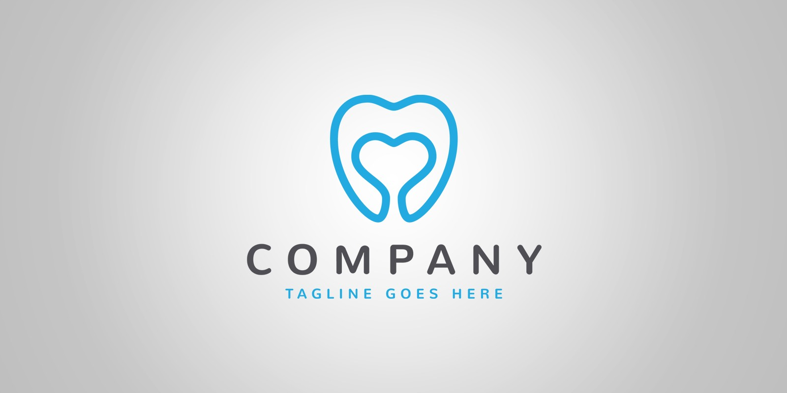Tooth Love Logo Template Codester