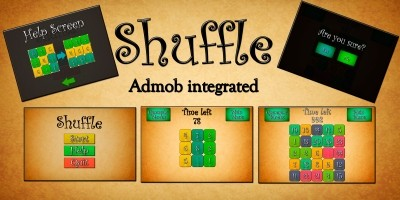 Shuffle - Unity Game Source Code