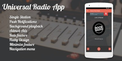 Universal Radio App - Android App Source Code